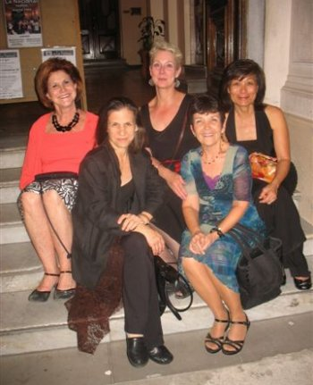 Argentine tango group trip Buenos Aires - girls