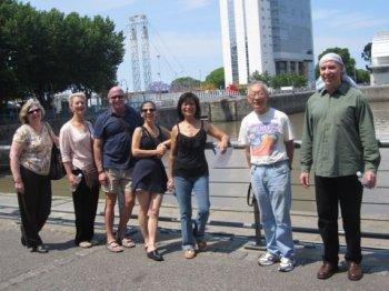 Argentine tango group trip Buenos Aires - diques