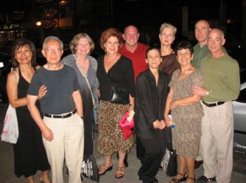 Argentine tango group trip Buenos Aires - evening