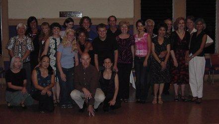 Argentine tango workshop Hilo Hawaii