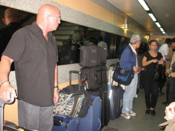 Argentine tango group trip Buenos Aires - packing up