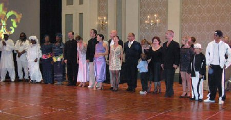 Argentine tango festival performance New Orleans