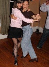 Lynda leading tango