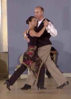 Argentine tango performance, Miami